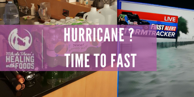 Why Fast During a Hurricane?