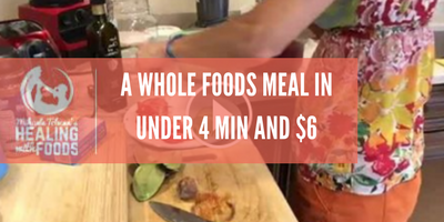 A meal in under 4 minutes